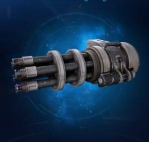 FF7 Remake - Gatling Gun