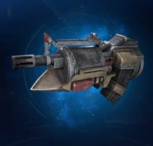 FF7 Remake - Light Machine Gun