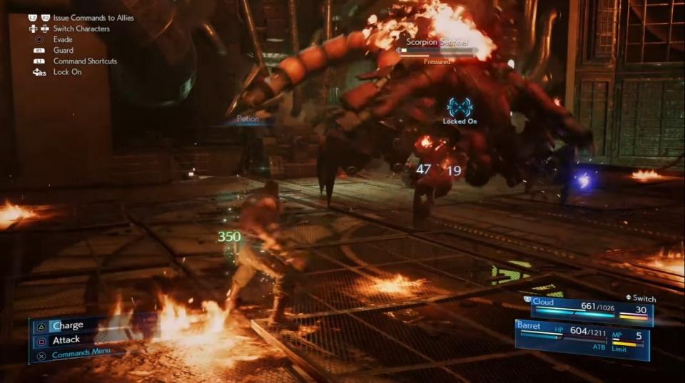 Final Fantasy 7 Remake - ATB Gauge Guide
