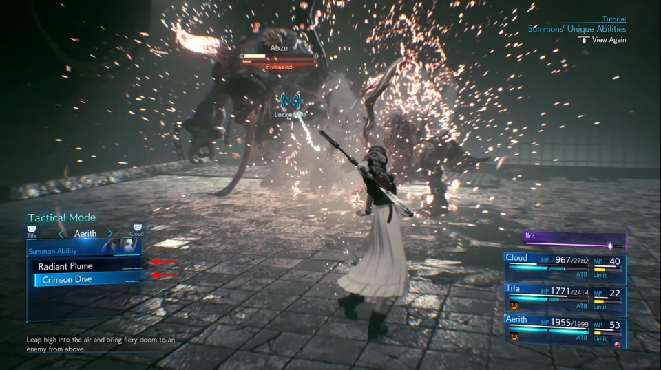 Final Fantasy 7 Remake - Summons Guide