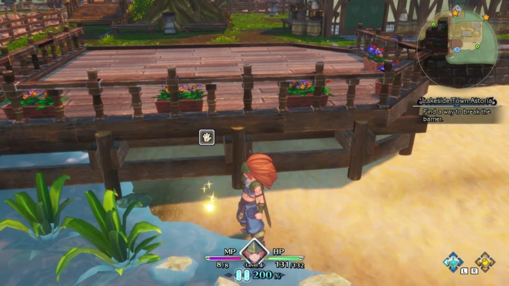 Trials of Mana Remake - Prologue Chapter: Charlotte - Lakeside Town Astoria - Orb Location 10