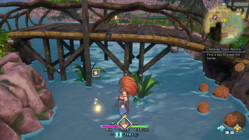 Trials of Mana Remake - Prologue Chapter: Charlotte - Lakeside Town Astoria - Orb Location 11