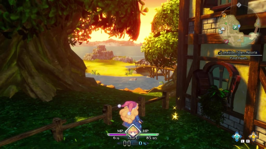 Trials of Mana Remake - Prologue Chapter: Charlotte - Lakeside Town Astoria - Orb Location 18