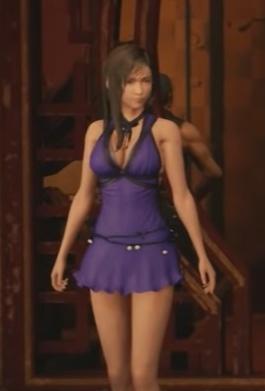 FF7 Remake - Tifa Mature Dress