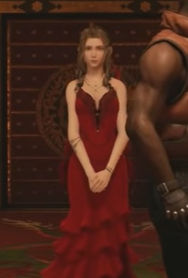 FF7 Remake - Aerith Red Dress