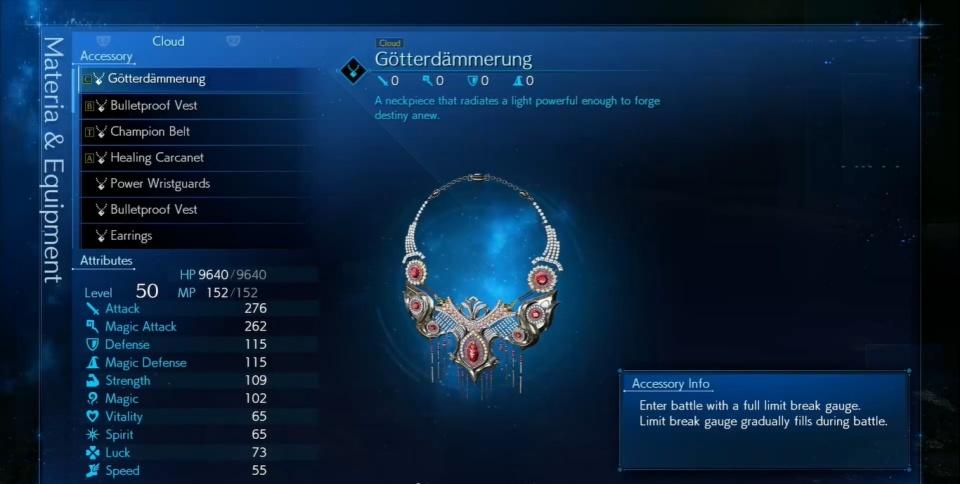 FF7 Remake Intergrade - Weiss Boss Fight Reward