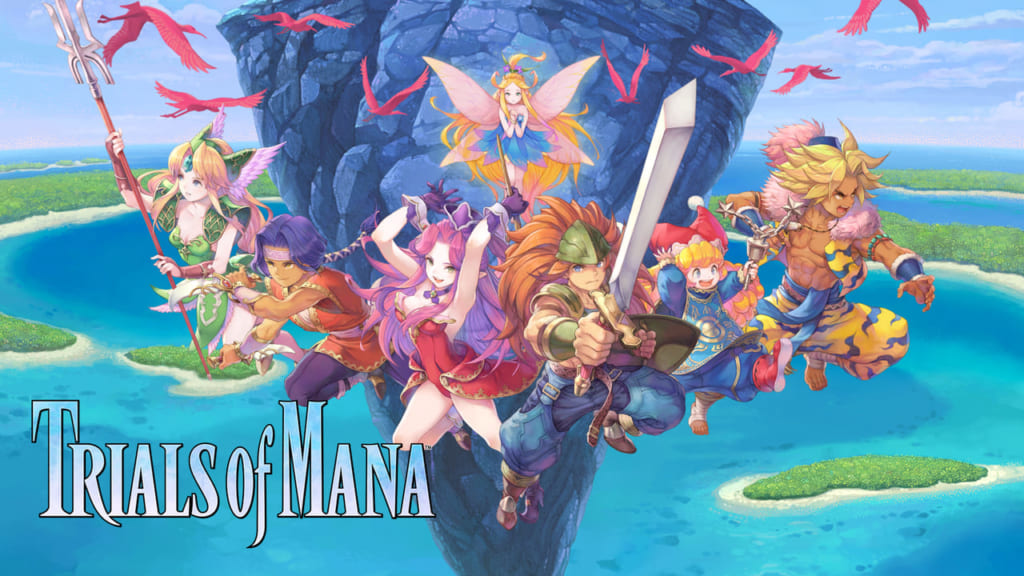 Trials of Mana - Undine Mana Spirit Information