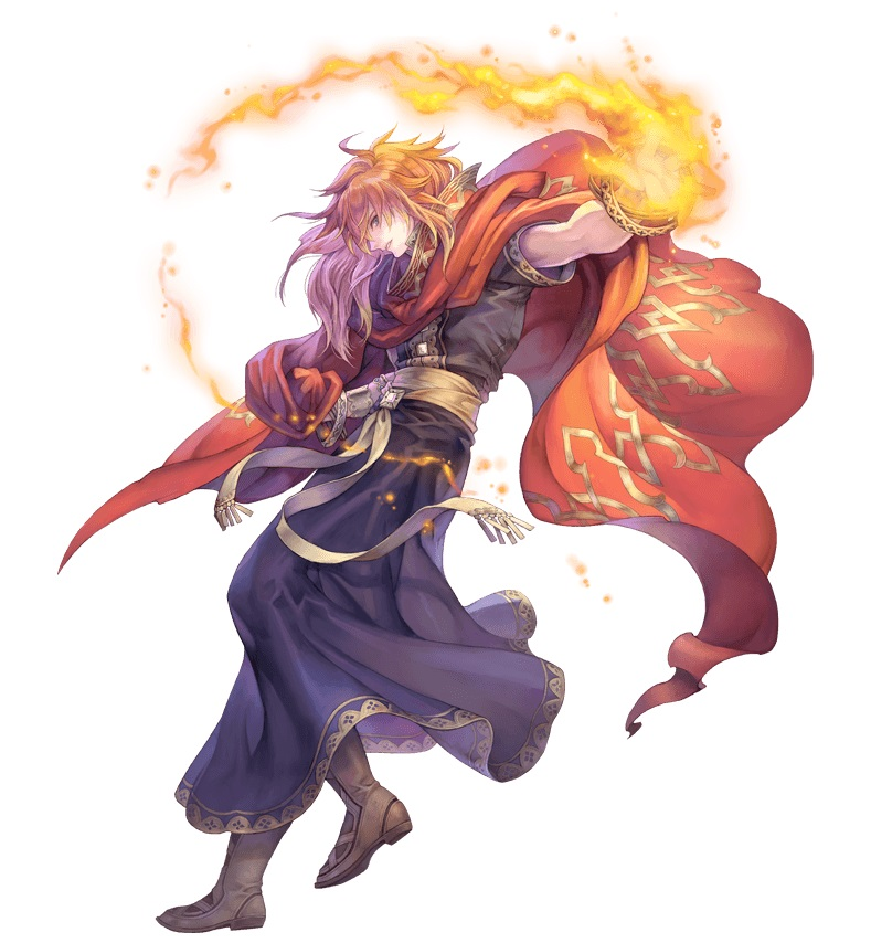 Trials of Mana - Crimson Wizard
