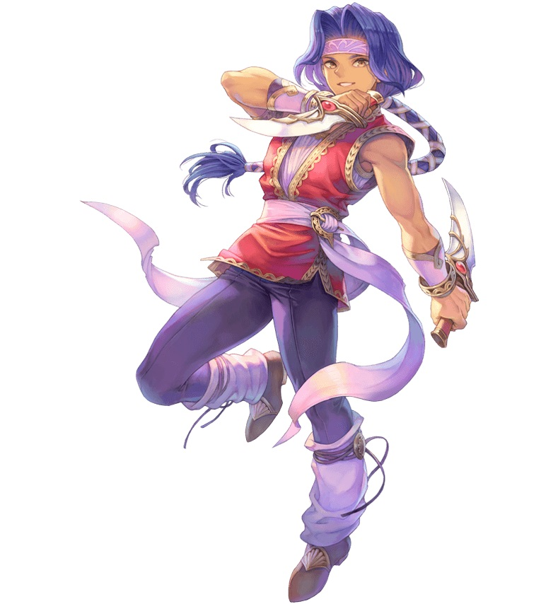 Trials of Mana - Hawkeye