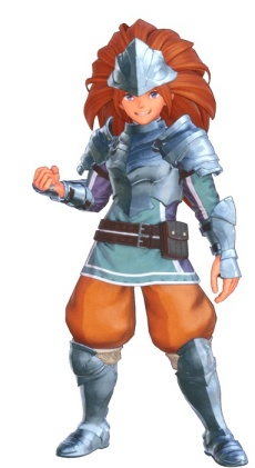 Trials of Mana - Knight Class