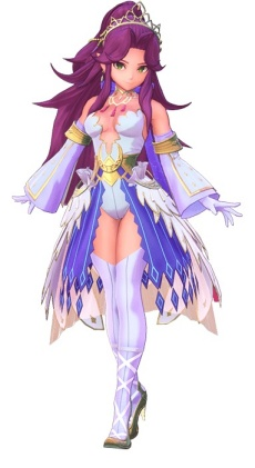 Trials of Mana - Mystic Queen Class