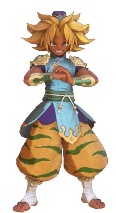Trials of Mana - Kevin Warrior Monk