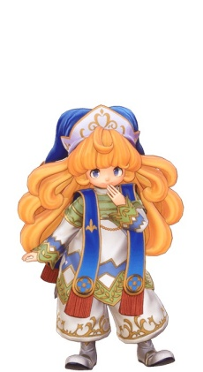 Trials of Mana - High Priestess Class