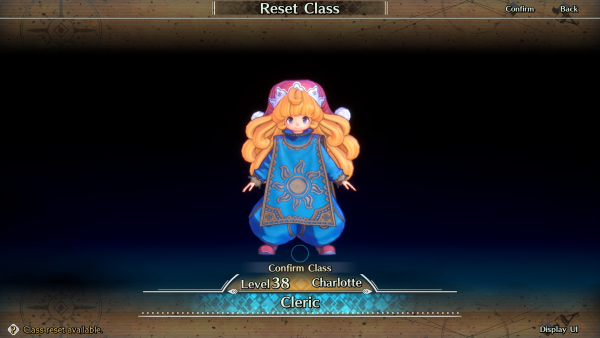 Trials of Mana - How to Reset Class