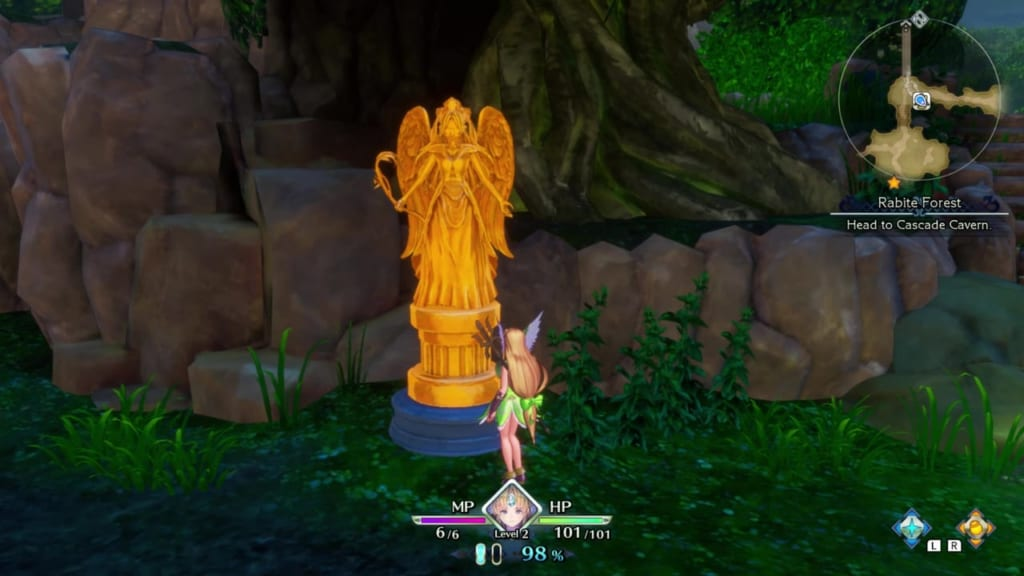 Trials of Mana - Mana Statue