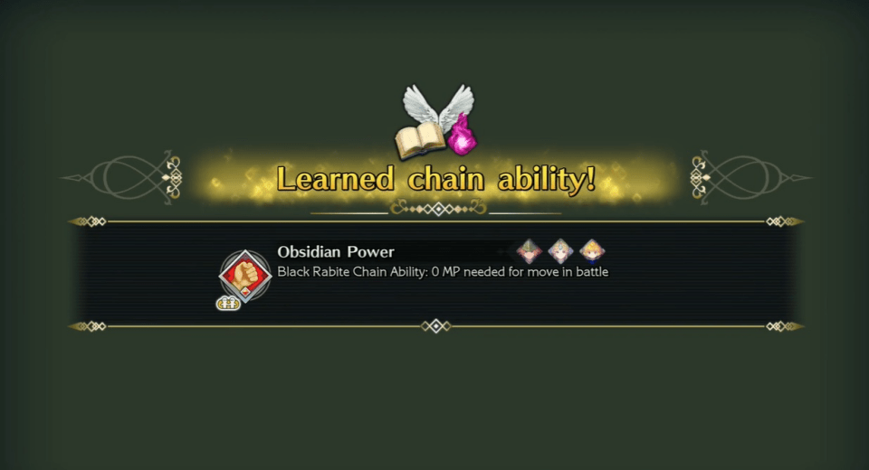 Trials of Mana Remake - Obsidian Power Chain Ability
