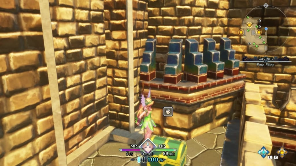 Trials of Mana - Prologue Chapter: Riesz - Chest Location 4