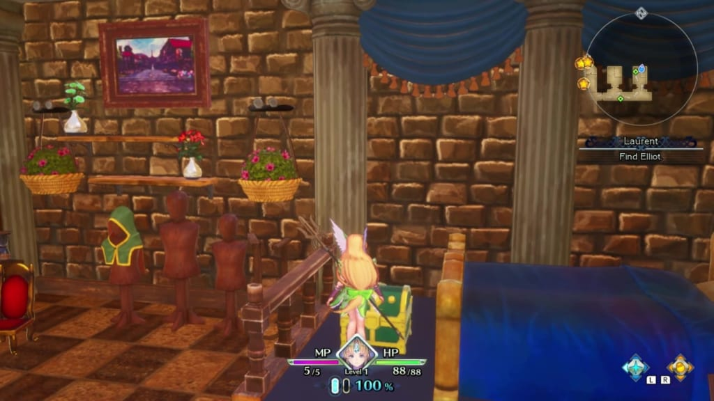 Trials of Mana - Prologue Chapter: Riesz - Chest Location 2