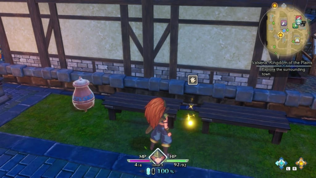 Trials of Mana Remake - Prologue Chapter: Duran - Kingdom of Valsena - Orb Location 10