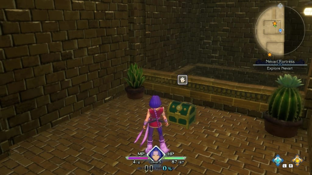 Trials of Mana Remake - Prologue Chapter: Hawkeye - Nevarl  Fortress - Chest Location 3