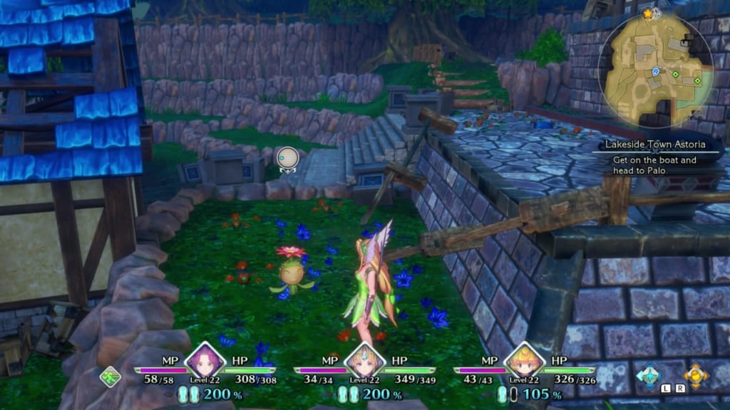 Trials of Mana - Chapter 2: Koropokkur Woods - Lil' Cactus Location 14