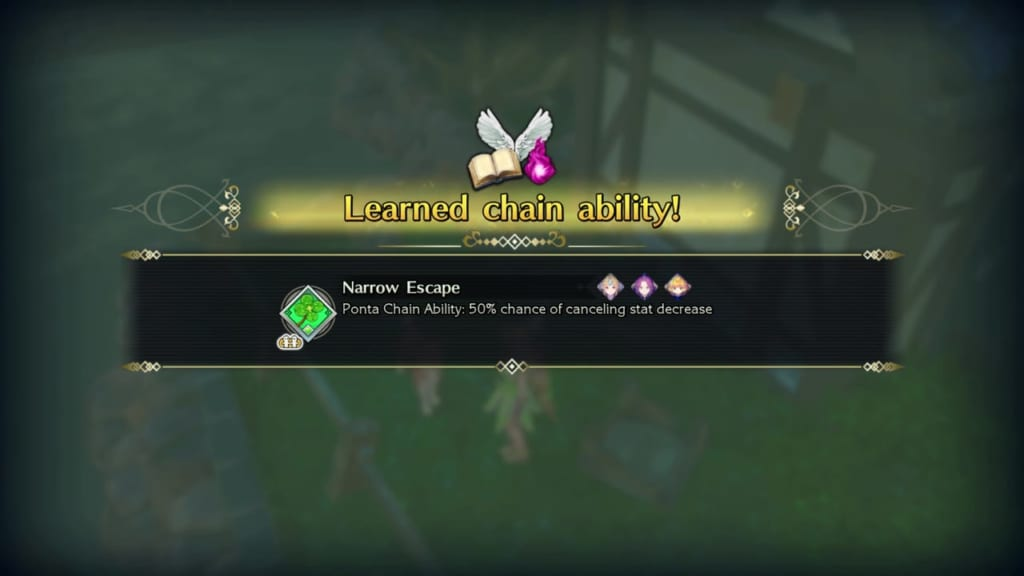 Trials of Mana - Chapter 2: Koropokkur Woods - Chain Ability - Narrow Escape