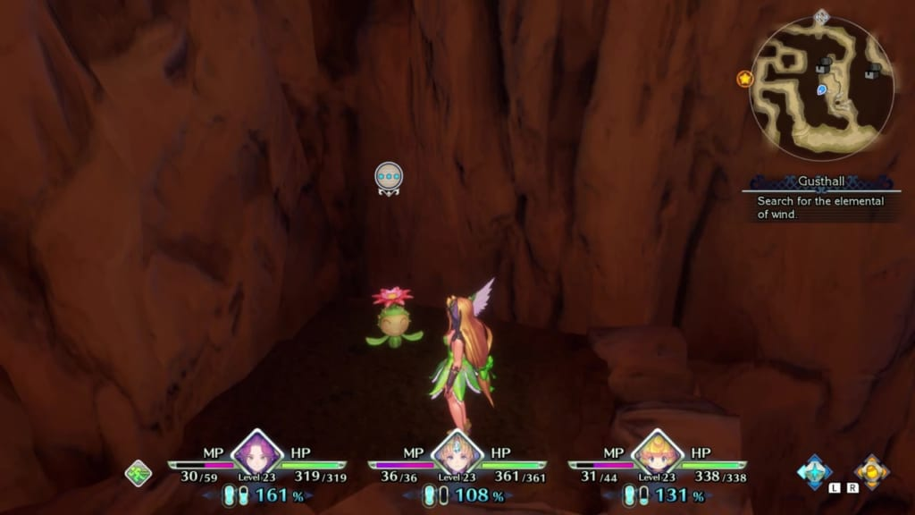 Trials of Mana Remake - Chapter 2: Gusthall - Lil' Cactus Location 16