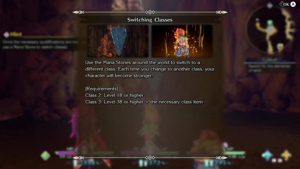 Trials of Mana Remake - Chapter 2: Gusthall - Class Change