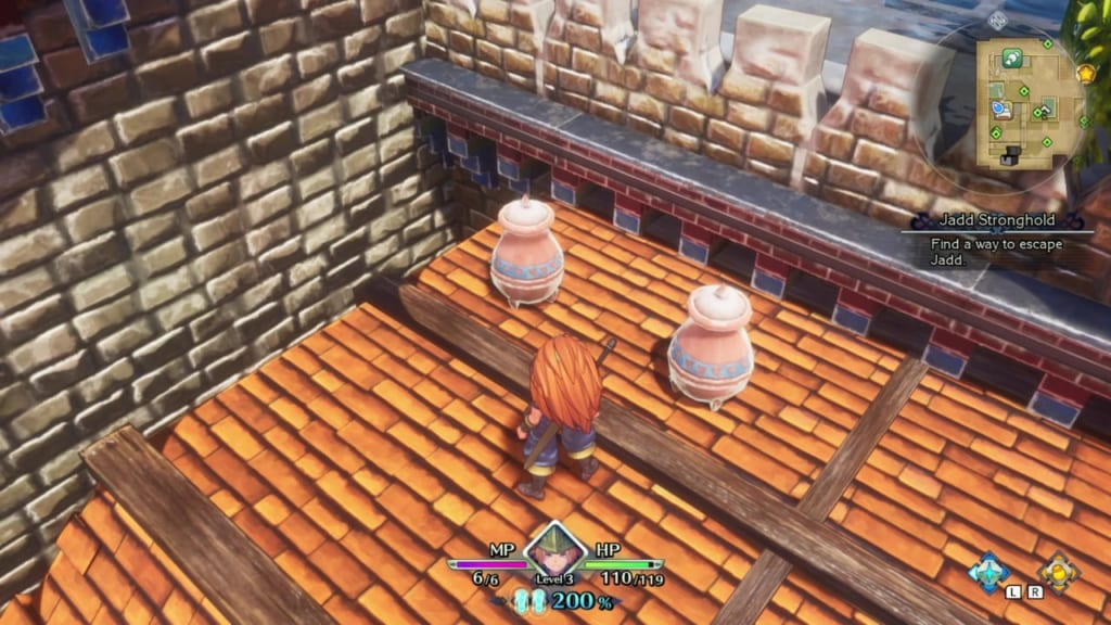Trials of Mana - Chapter 1: Jadd Stronghold - Vase Location 3