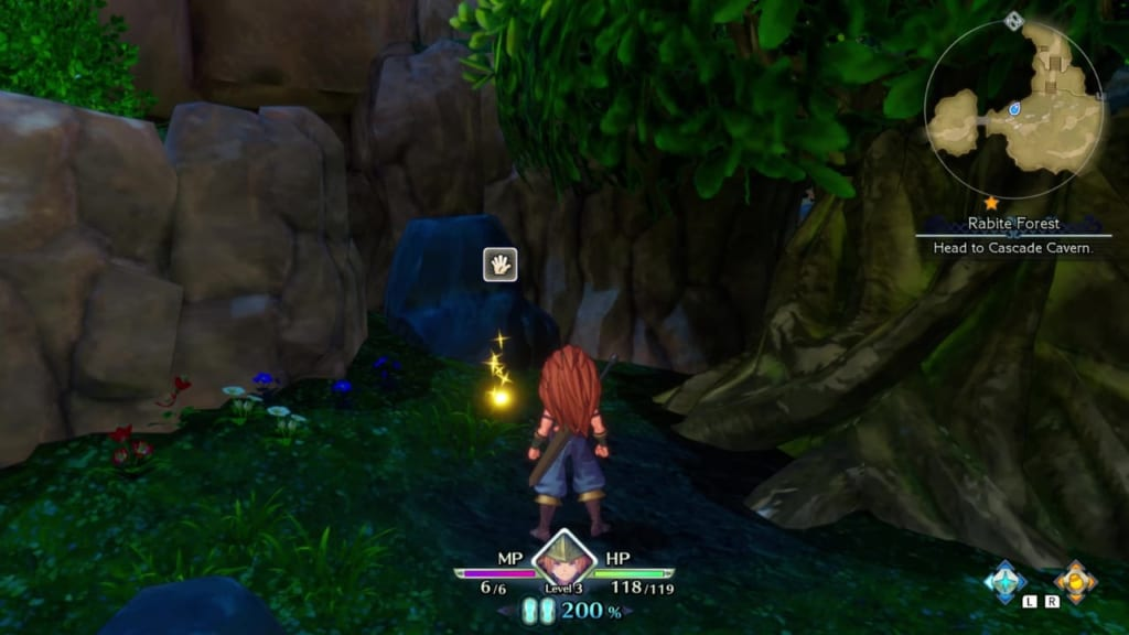Trials of Mana - Chapter 1: Rabite Forest - Orb Location 7