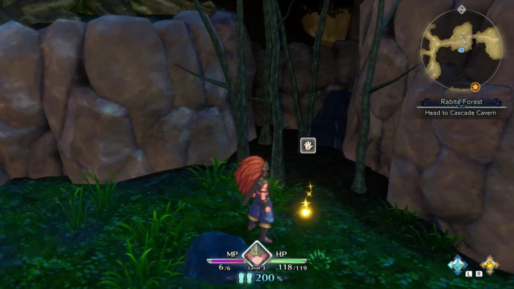Trials of Mana - Chapter 1: Rabite Forest - Orb Location 8