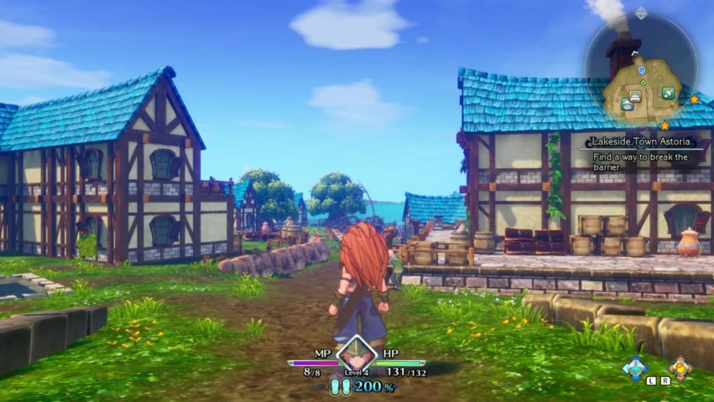 Trials of Mana - Chapter 1: Lakeside Town Astoria - Entrance