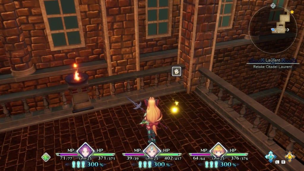 Trials of Mana - Chapter 2: Citadel of Laurent - Orb Location 3