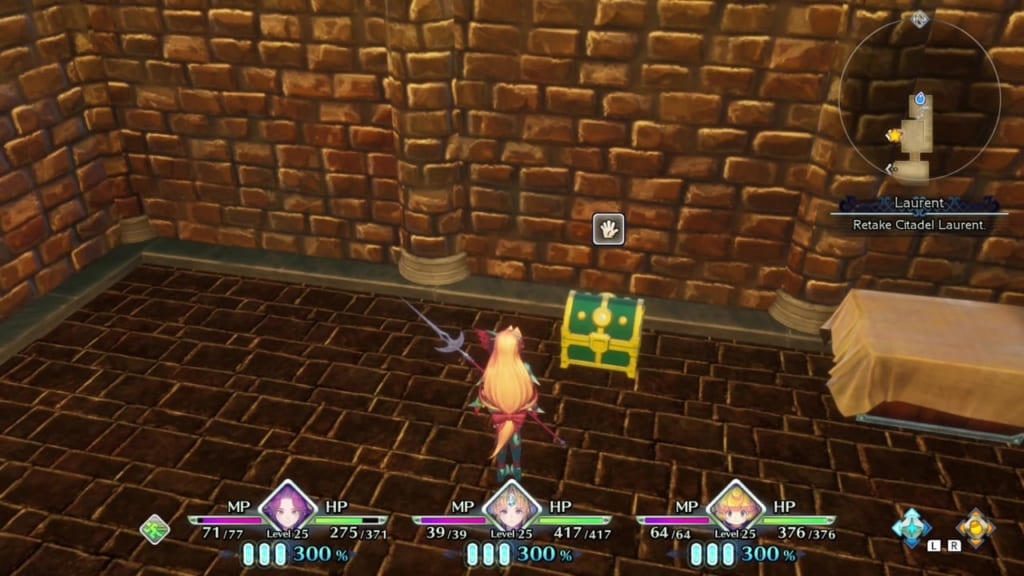 Trials of Mana - Chapter 2: Citadel of Laurent - Chest Location 2