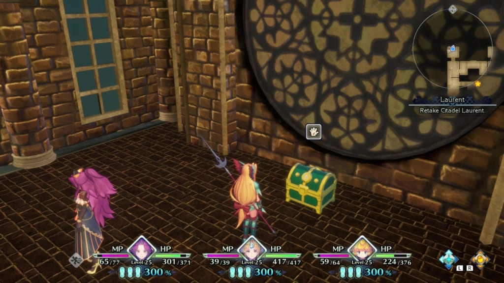 Trials of Mana - Chapter 2: Citadel of Laurent - Chest Location 3