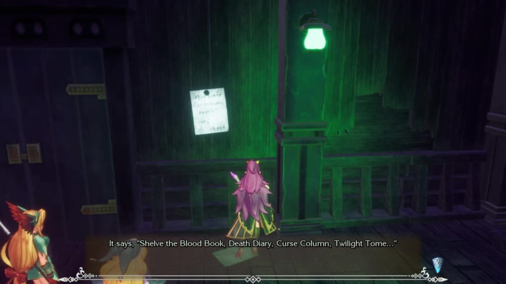 Trials of Mana Remake - Chapter 2: Ghost Ship - Book Note
