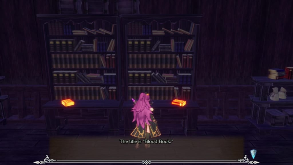 Trials of Mana Remake - Chapter 2: Ghost Ship - Bookshelf 1