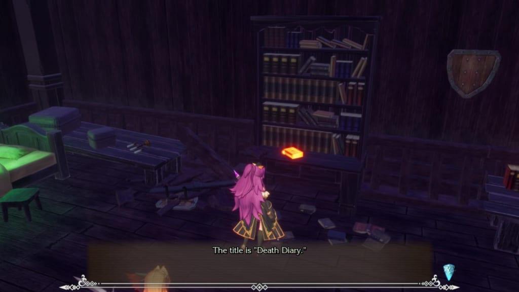 Trials of Mana Remake - Chapter 2: Ghost Ship - Bookshelf 3