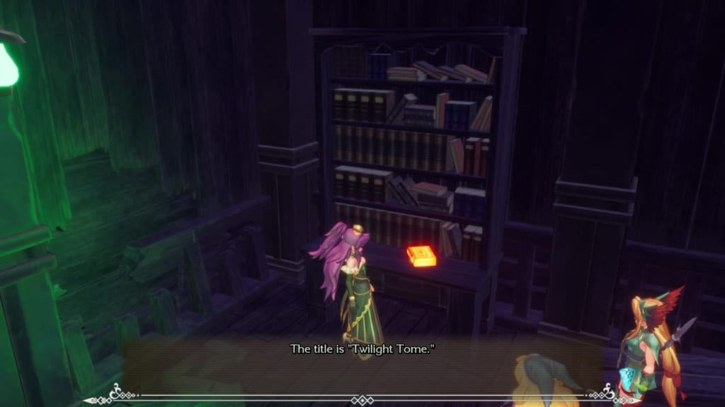 Trials of Mana Remake - Chapter 2: Ghost Ship - Bookshelf 4