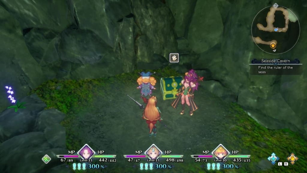 Trials of Mana Remake - Chapter 2: Seaside Cavern - Chest Location 5