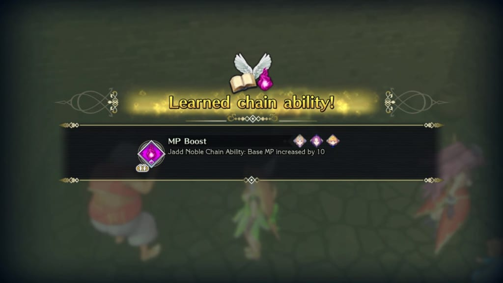 Trials of Mana - Chapter 1: Jadd Stronghold Revisited - Chain Ability 2 - MP Boost