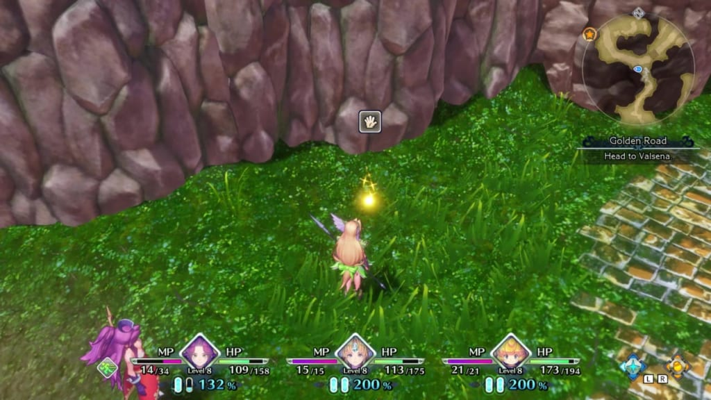 Trials of Mana - Chapter 1: Golden Road - Orb Location 5