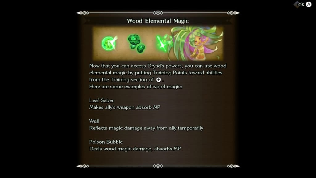 Trials of Mana Remake - Chapter 3: Lampbloom Woods Revisited - Wod Elemental Moves and Magic
