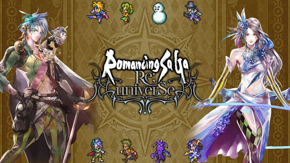 Romancing SaGa Re;Universe - Reroll Tier List