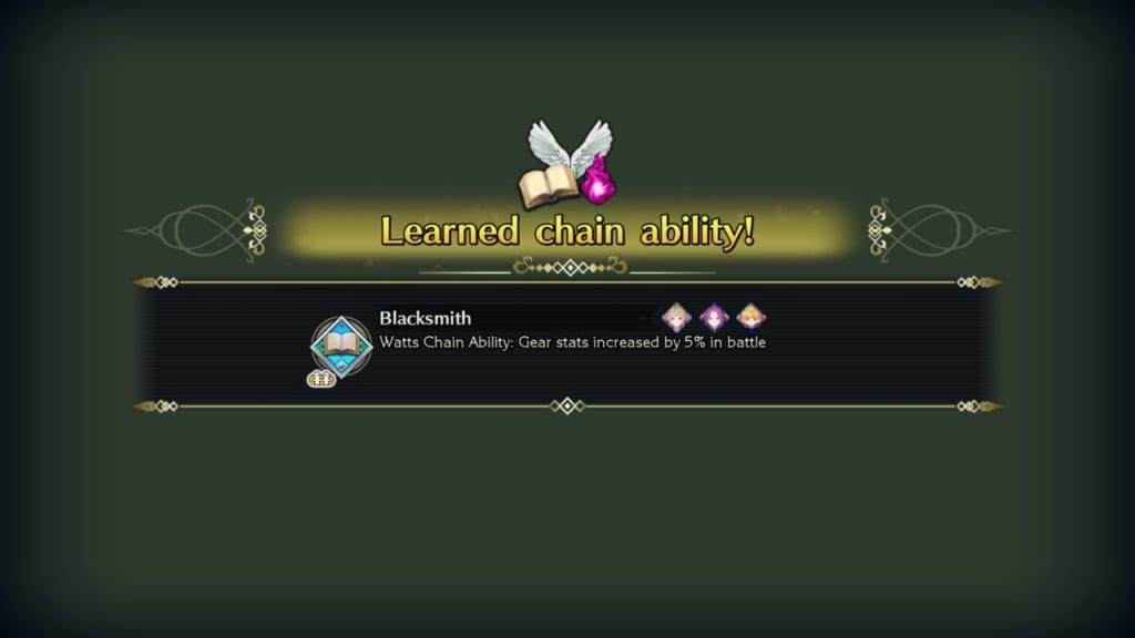Trials of Mana - Chapter 1: Dwarf Tunnel - Chain Ability - Blacksmith