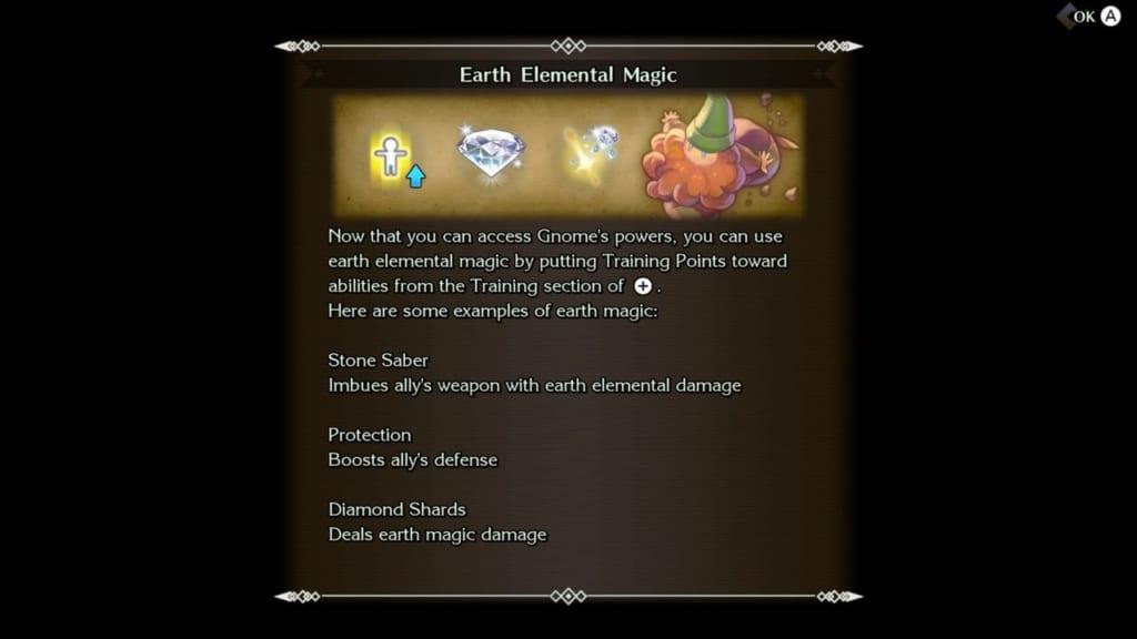 Trials of Mana - Chapter 1: Dwarf Tunnel - Chain Ability - Blacksmith