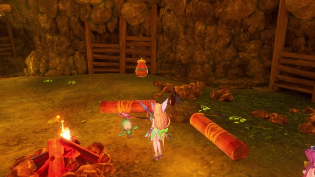 Trials of Mana - Chapter 1: Dwarf Tunnel - Lil' Cactus Location 3