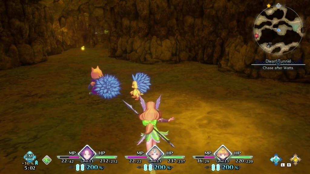Trials of Mana - Chapter 1: Dwarf Tunnel - Hidden Location 2