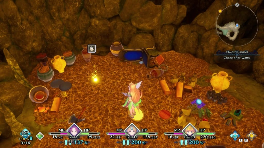 Trials of Mana - Chapter 1: Dwarf Tunnel - Orb Location 8