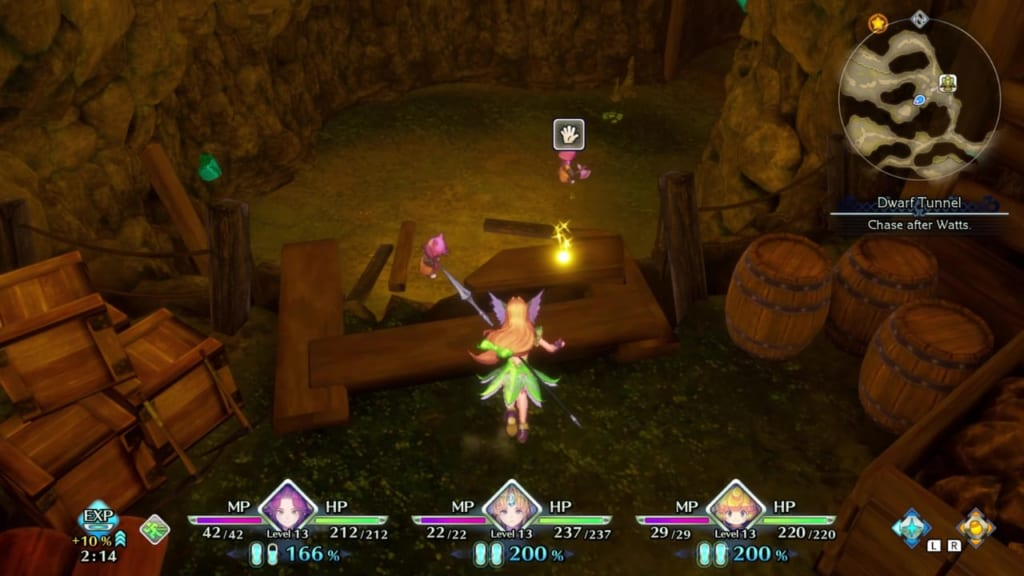 Trials of Mana - Chapter 1: Dwarf Tunnel - Orb Location 11